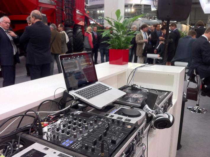 Messe DJ Hannover Agritechnica