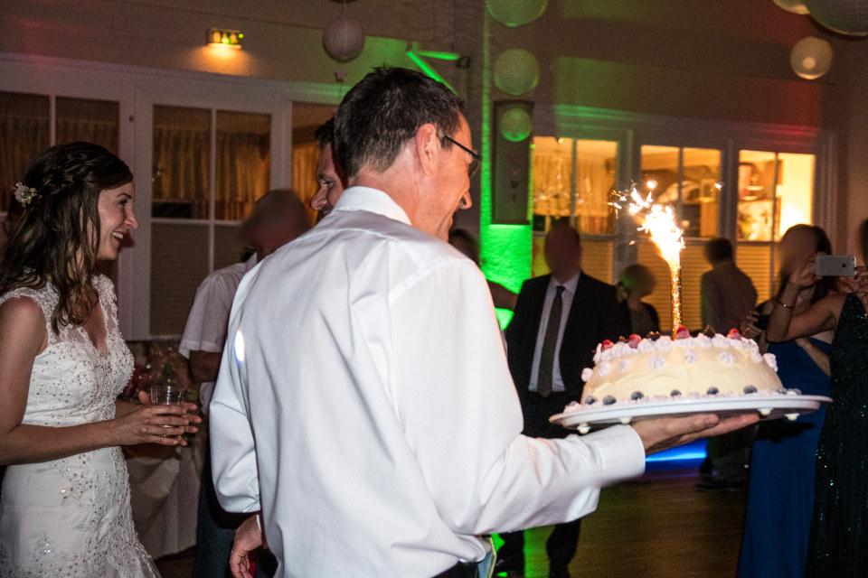 Eisbombe zur Hochzeit im Seeblick Trebus