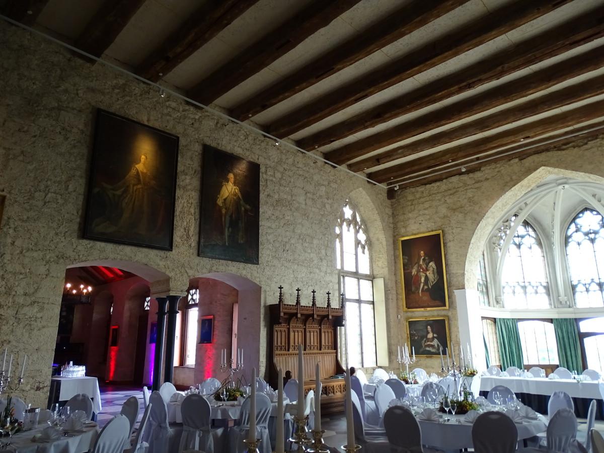 Hochzeit im Schloss Marienburg Hochzeitssaal