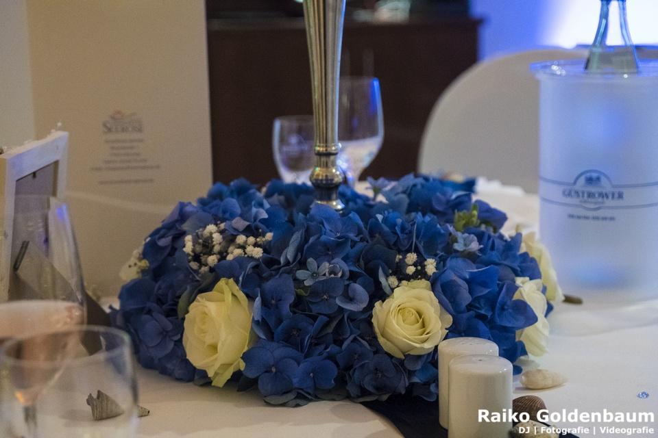 Blumenschmuck Usedom Hochzeit