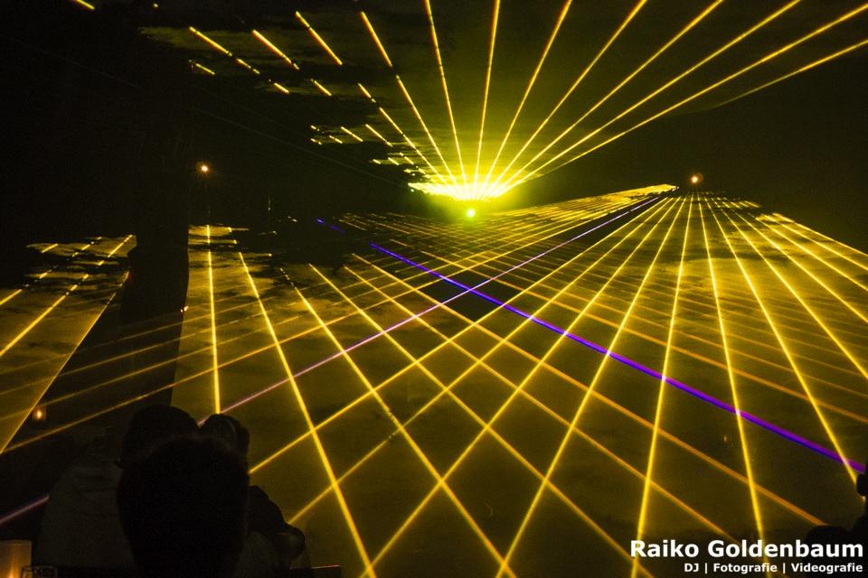 Lasershow Schorfheide