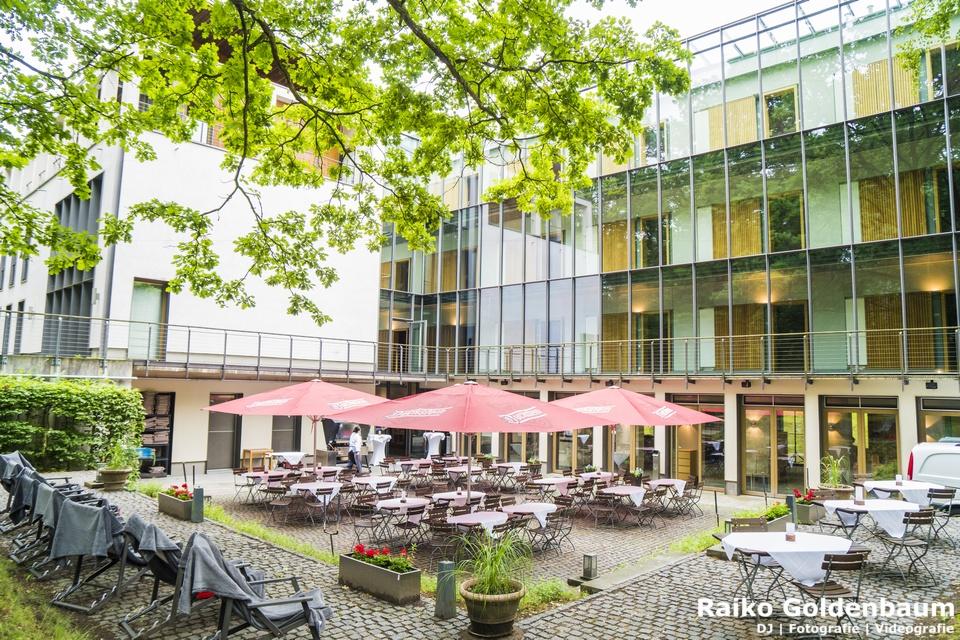 Ringhotel Schorfheide Hochzeit Außenbereich / Terrasse
