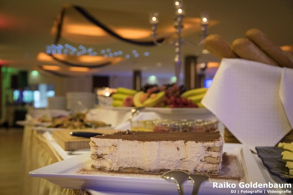 Strandhotel Seerose Hochzeit Dessert