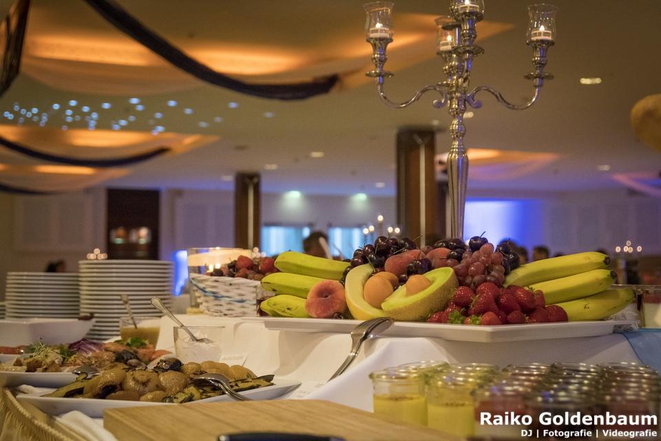 Strandhotel Seerose Hochzeit Obst