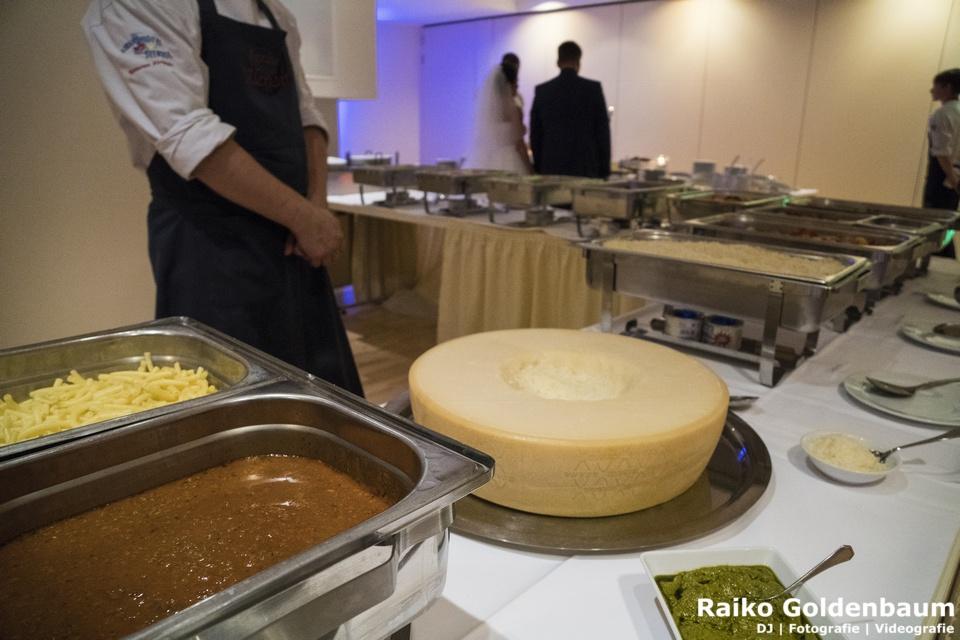 Strandhotel Seerose Koelpinsee Hochzeit Buffet