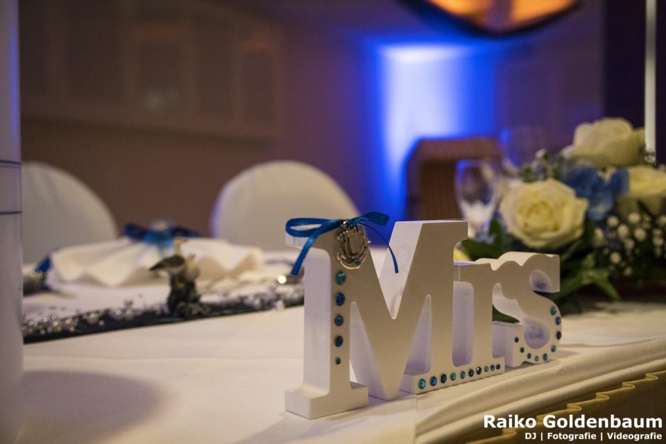 Tischdeko Hochzeit Usedom