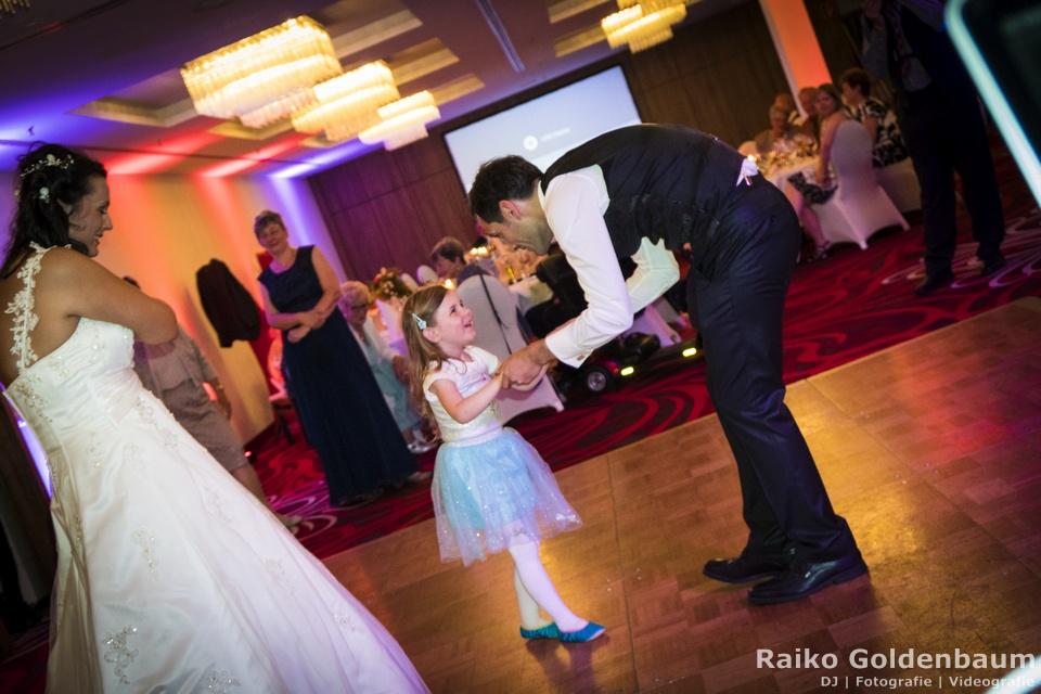 Hilton Dresden Hochzeit Kindertanz