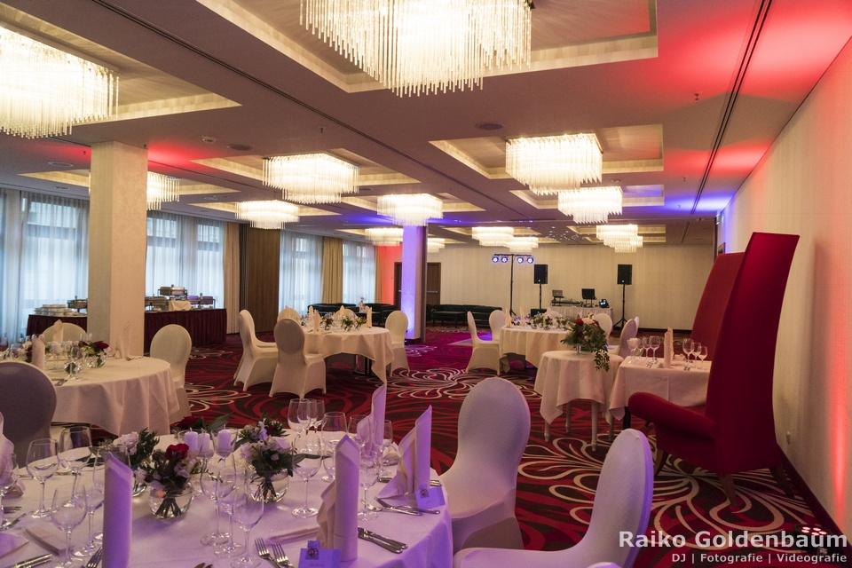 Hilton Dresden Hochzeit Saal