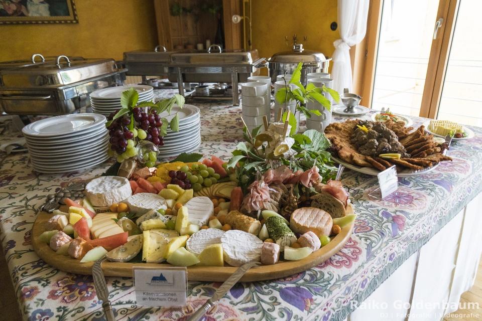 Hotel Seegarten Grünheide Hochzeit kalte Speisen
