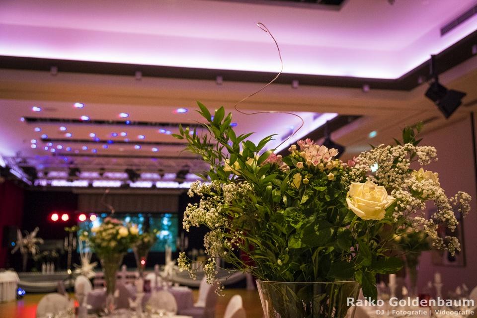Arthotel Kiebitzberg Havelberg Hochzeit Blumendeko