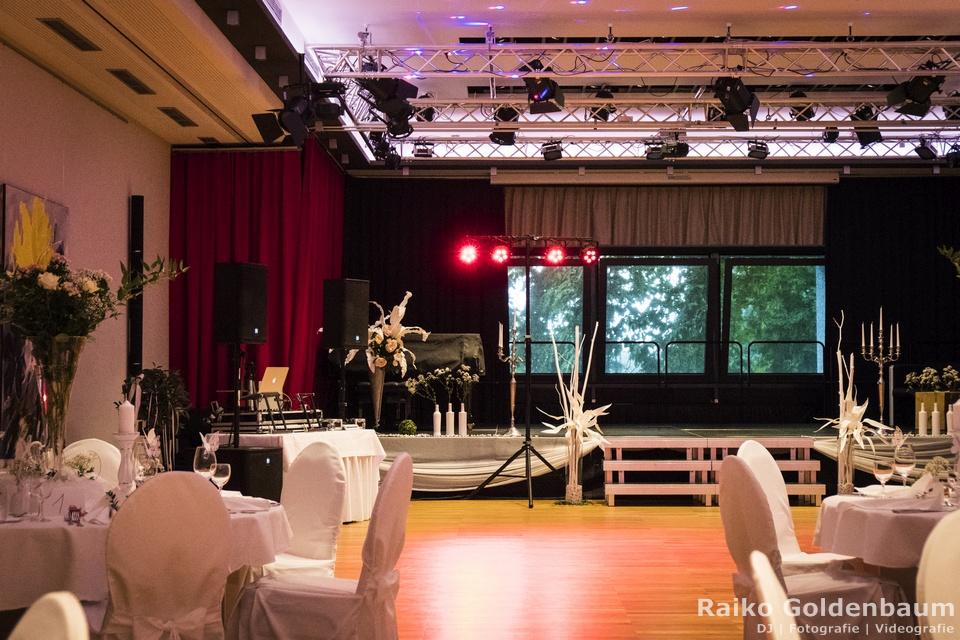 Arthotel Kiebitzberg Havelberg Hochzeit Bühne