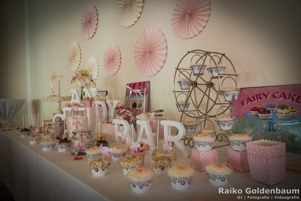 Gut Gnewikow Hochzeit Candybar
