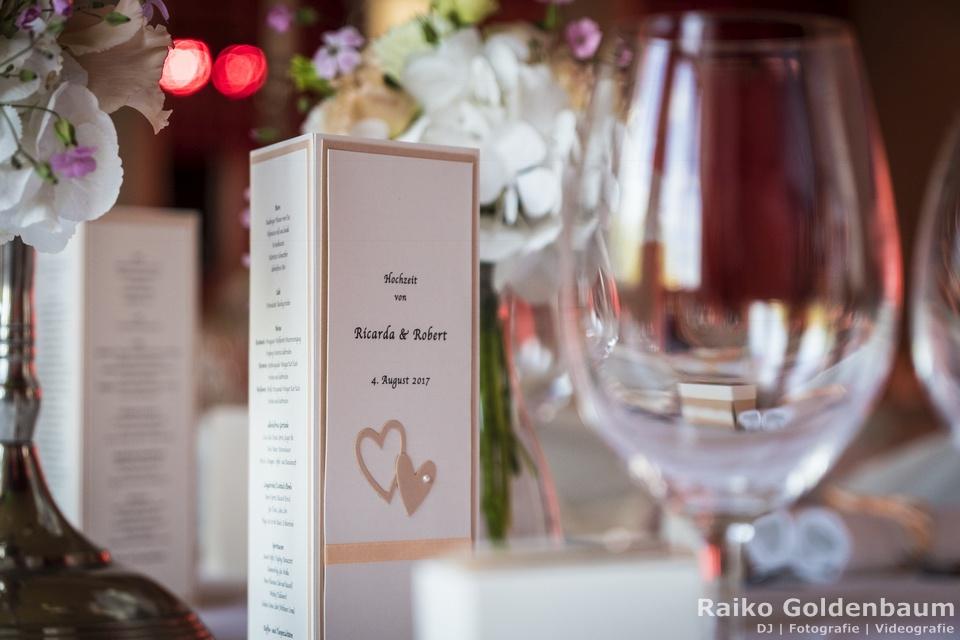 Gut Gnewikow Hochzeit Tisch