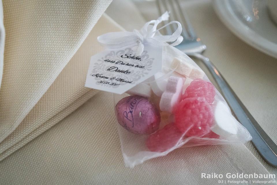 Seehotel Zeuthen Hochzeit Tischdeko