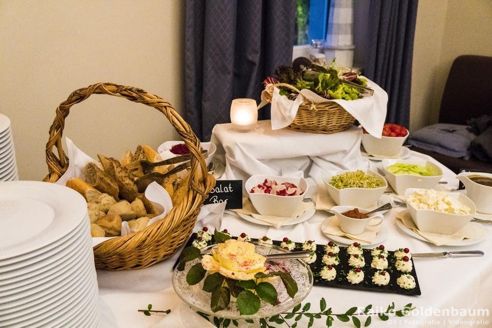 Café Wildau Hochzeit kaltes Buffet