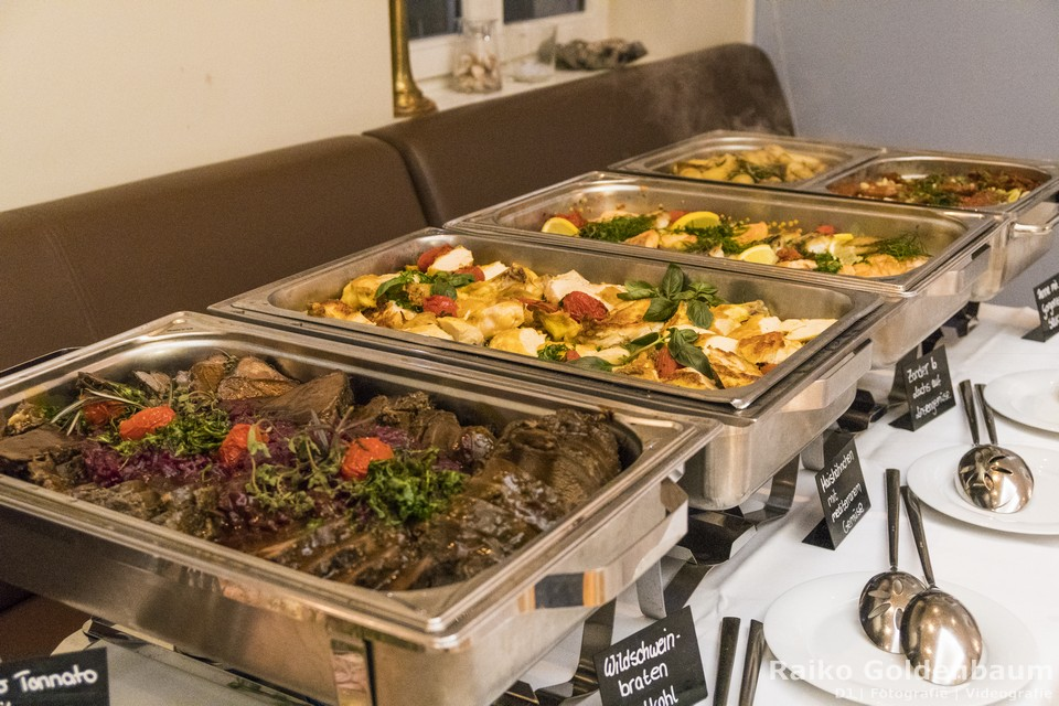 Café Wildau Hochzeitsbuffet