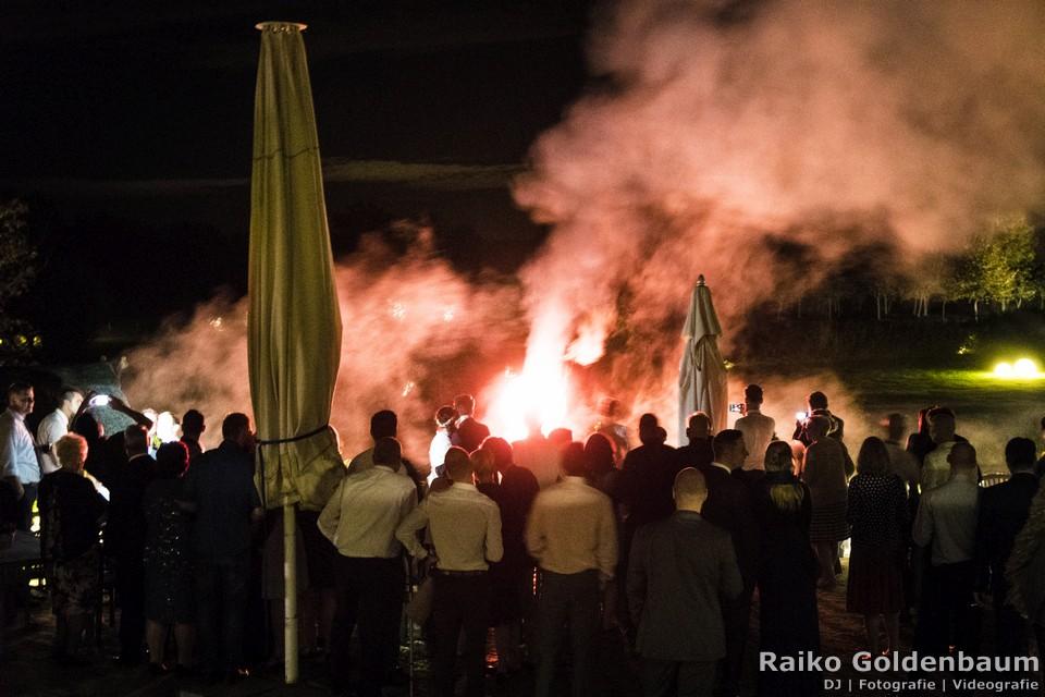 Spreewaldresort Seinerzeit Schlepzig Spreewald Hochzeit Feuerwerk