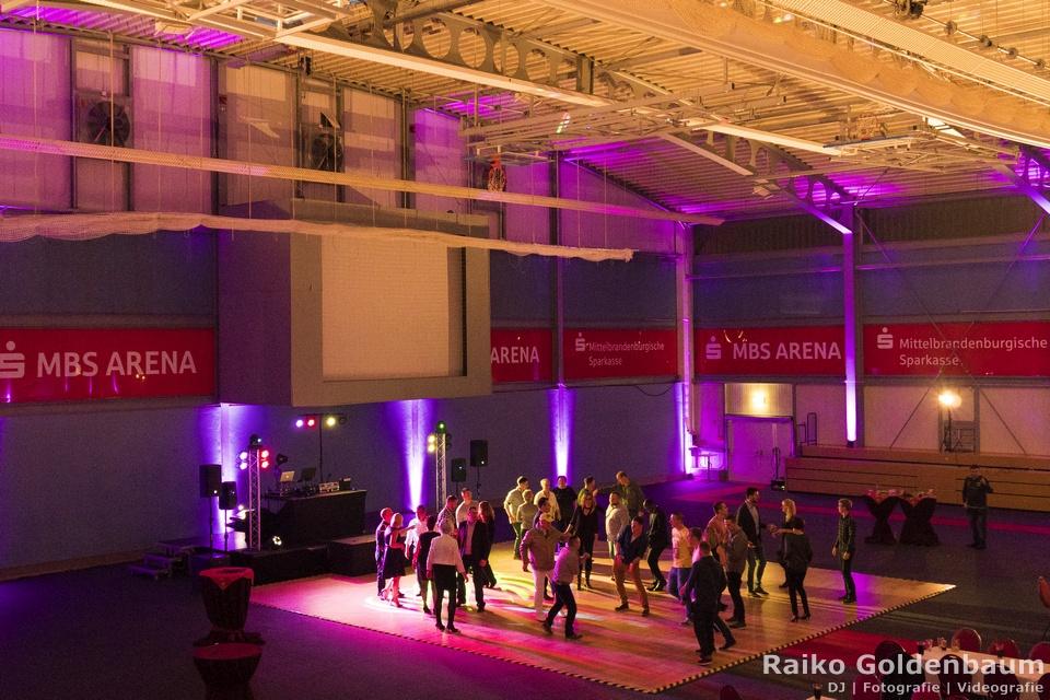 Corporate Event DJ Oranienburg MBS Arena Orafol