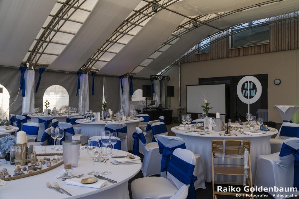 See- und Waldresort Gröbern Hochzeit Saal