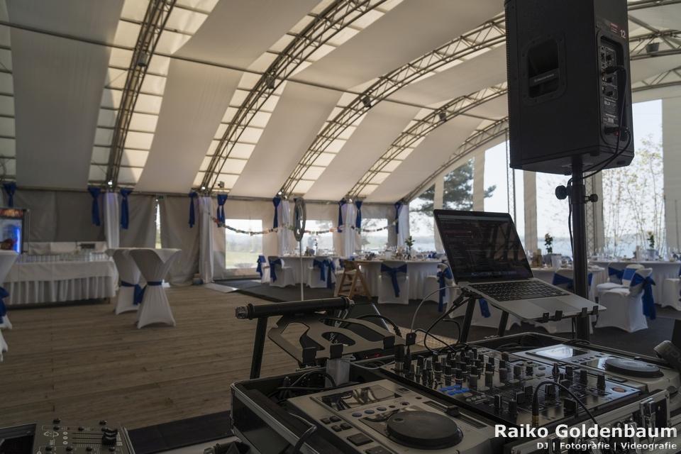 See- und Waldresort Gröbern Hochzeit Zelt