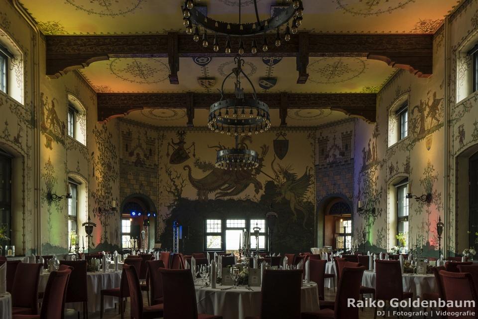 Hotel auf der Wartburg Eisenach Hochzeitsfeier Wappensaal