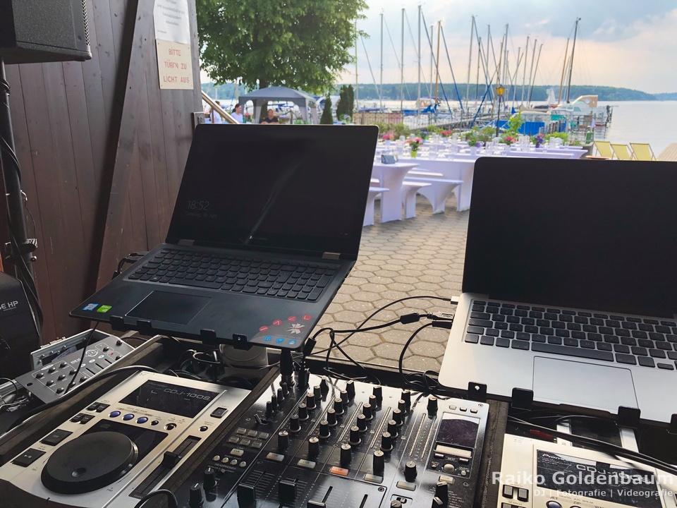 Geburtstag DJ Ruderclub am Wannsee Berlin