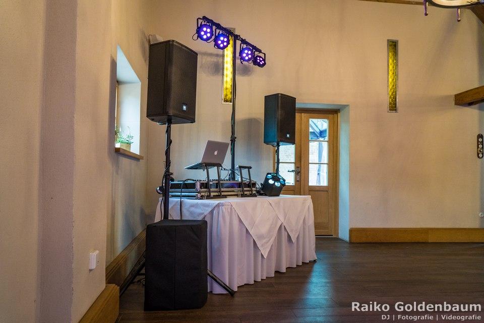 Zum Rittmeister Kemnitz Hochzeit DJ